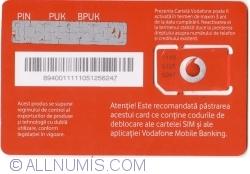Vodafone - Bun venit ! - cu SIM