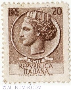 Image #2 of 20 Lire 1953