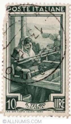 Image #2 of 10 Lire 1950 - Ţesut