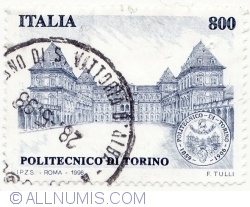 Image #2 of 800 Lire 1998 - Polytechnical School of Turin