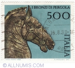 Image #2 of 500 Lire 1988 - Horse