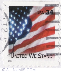 Image #1 of 34 Cents 2001 - United we stand
