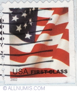Image #2 of 0.37 Dolar - Steag American-USA first class