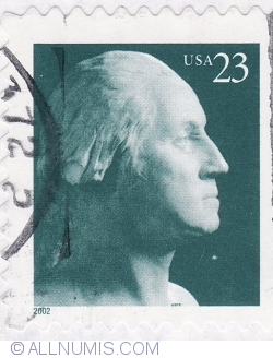 Image #2 of 23 Cents 2002 - George Washington