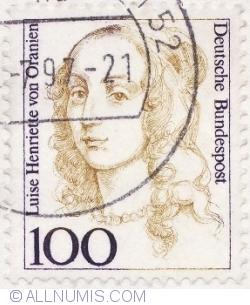Image #1 of 100 Pfennig 1997 - Louise Henriette of Orania