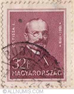 Imaginea #1 a 32 Filler,1932 - IstvanTisza (1861-1918),poet
