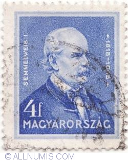 Imaginea #1 a 4 Filler,1932 - Ignac Semmelweis (1818-1865) doctor