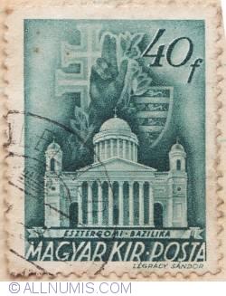 Imaginea #2 a 40 Filler 1939 - Bazilica din Esztergom