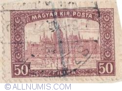 Imaginea #1 a 50 Filler 1917 - Palatul Parlamentului