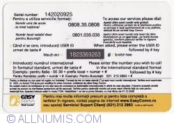 Image #2 of Calling Card - National and international calls - Platinum Card (20 +1 USD)