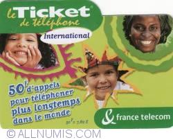 Image #2 of 50 Francs = 7,62 Euro