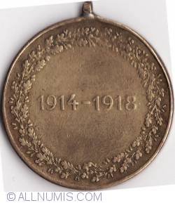 Image #1 of Great War Commemorative Medal (Kriegserinnerungsmedaille) 1914-1918