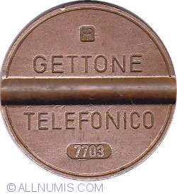 Gettone telefonico 7703 martie IPM