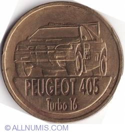 Image #2 of PARIS-DAKAR 1989 Peugeot 405 T16
