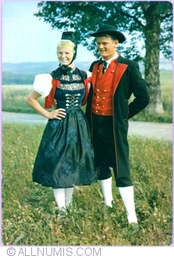 Image #1 of A folk costume from Hochschwartzwald