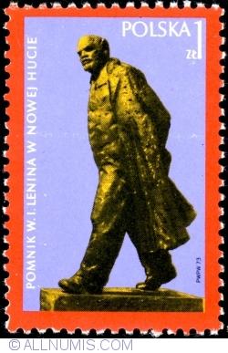 Image #1 of 1 Złoty 1973 - Lenin Monument in Nowa Huta