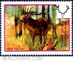 Image #1 of 4,90 Złote 1973 - The Red Deer (Cervus Elaphus)