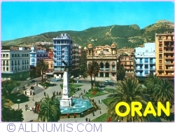 Image #1 of Oran - Square of The 1st of November and the theatre (1984)