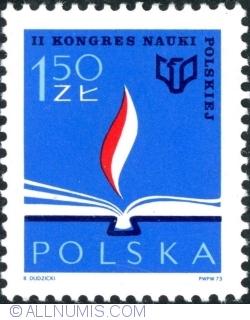 Image #1 of 1,50 Złoty 1973 - 2nd Polish Science Congress Warsaw