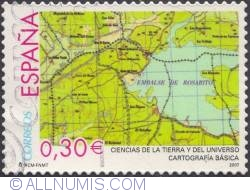 Image #1 of 0,30 € - Map (cartography)