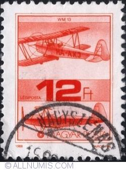 Imaginea #1 a 12 Forint 1988 - Avionul WM 13