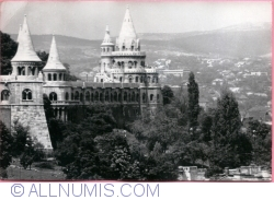Budapest - Fissher`s Bastion (Halászbástya) (1970)