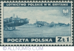 Image #1 of 1 Złoty 1941 - Polish Planes in Great Britain