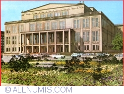 Dresden - Opera-House at the Karl Marx Square (1984)