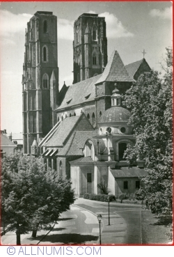 Wrocław - The Catedral Church (1961)