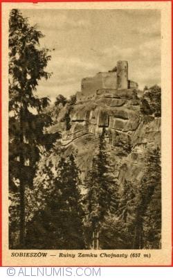 Image #1 of Sobieszów - Ruins of Chojnasty Castle (1949)