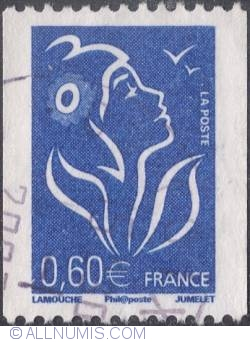 Image #1 of 0,60 € - Marianne of Lamouche