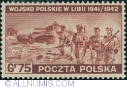 Image #1 of 75 Groszy 1943 - Polish Army in Libya, 1941-1942