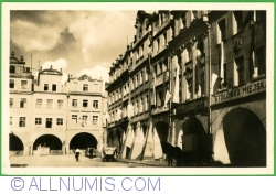 Image #1 of Jelenia Góra - Central square - Tenement house with arcades from the 18th century (1949)