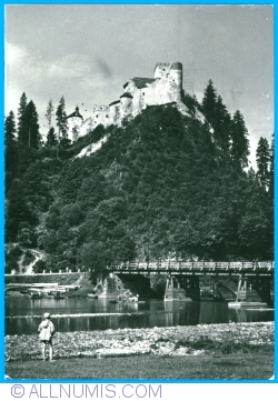 Dunajec gorge in the Pieniny Mountains (near Niedzica) (1964)