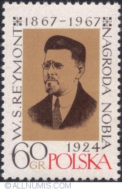 Imaginea #1 a 60 Groszy 1967 - 100 de ani de la nașterea lui Władysław Stanisław Reymont