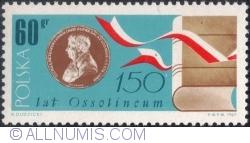 Imaginea #1 a 60 Groszy 1967 - 150 de ani de la fondare Ossolineum 1967