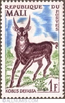 Image #1 of 1 Franc 1965 - Defassa Waterbuck