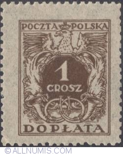 Image #1 of 1 grosz- Polish Eagle