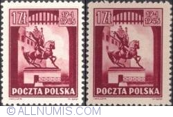 Image #1 of 1 Zloty 1945 - Kościuszko monument