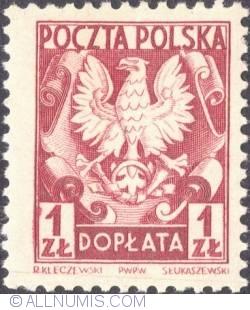 Image #1 of 1 złoty- Polish Eagle