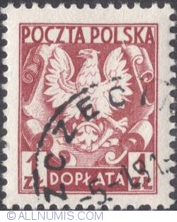 Image #1 of 1 złoty - Polish Eagle