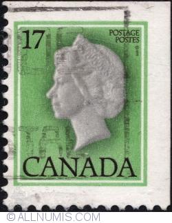 Imaginea #2 a 17¢ - Regina Elisabeta a II-a
