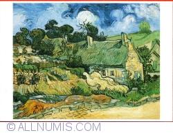 Imaginea #1 a Vincent Van Gogh - Miriștile din Cordeville în Auvers-sur-Oise (Chaumes de Cordeville à Auvers-sur-Oise) (1986)