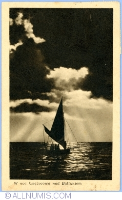 Baltic Sea at night (1949)
