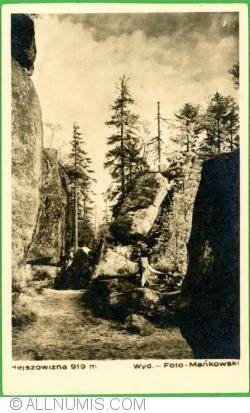 Image #1 of Hejszowizna (919 m.) in Stołowe Mountains (1951)