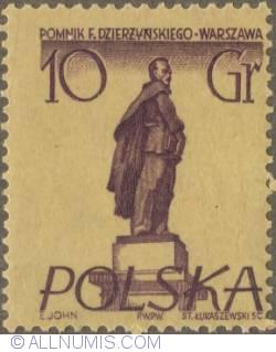Image #1 of 10 groszy 1955 - Feliks Dzierzynski