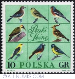 Image #1 of 10 groszy 1966 - The eight birds