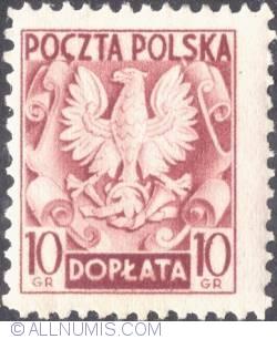 Image #1 of 10 groszy- Polish Eagle ( Without imprint )