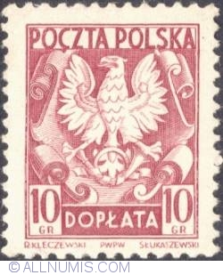 Image #1 of 10 groszy- Polish Eagle