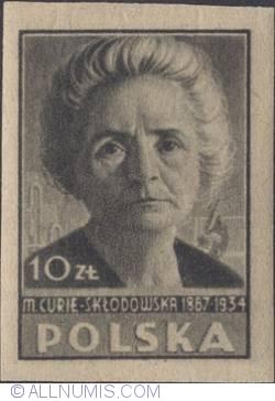 10 Złotych 1947 - Maria Curie-Skłodowska